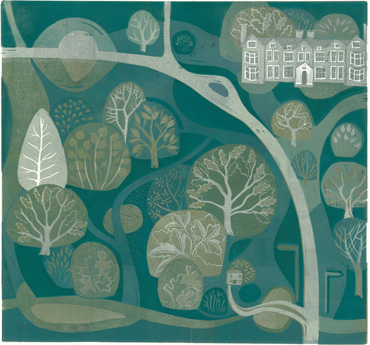 Thumbnail image of Launde Abbey and Big Wood by Sarah Kirby