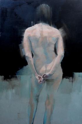Thumbnail image of Pensive Nude by Scott Bridgwood