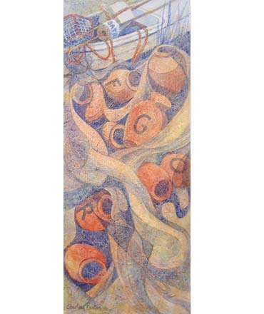 Thumbnail image of Octopus Pots by Shirley Easton