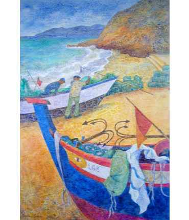 Thumbnail image of Salema Beach by Shirley Easton
