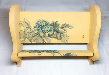 Thumbnail image of Floral Book Stand - front view by Siyuan Ren