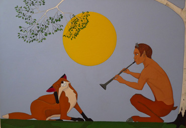 Thumbnail image of Fox and the Faun by Stuart Hill