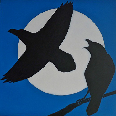 Thumbnail image of Raven Moon by Stuart Hill