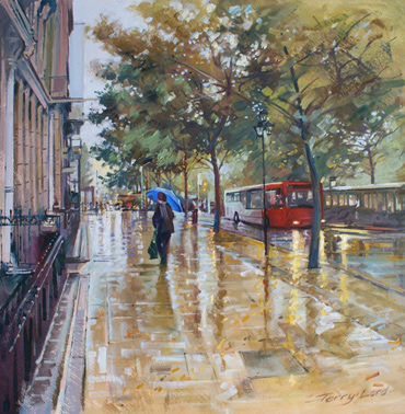 Thumbnail image of The Blue Umbrella by Terry Lord