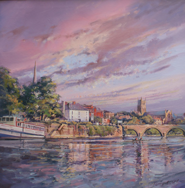 Thumbnail image of The River Severn at Worcester by Terry Lord