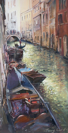 Venetian Canal by Terry Lord