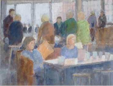Thumbnail image of Coffee Morning by Terry Whittaker
