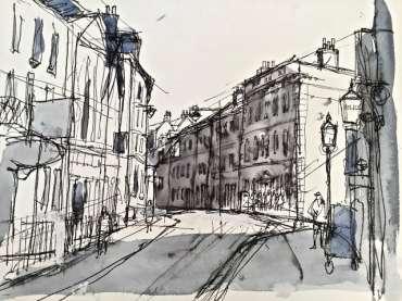Thumbnail image of High Pavement, Nottingham by Tony O'Dwyer