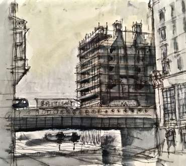 Thumbnail image of Canal at Nottingham by Tony O'Dwyer