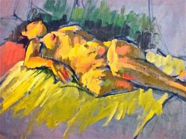 Thumbnail image of Figure Study 2 by Tony O'Dwyer