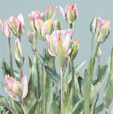 Thumbnail image of White Tulips by Vivienne Cawson